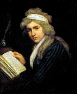 Mary Wollstonecraft (Mrs William Godwin) c.1790-1 by John Opie 1761-1807